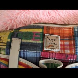 Dooney & Bourke Bags - Dooney & Bourke Madras Plaid Ants Purse
